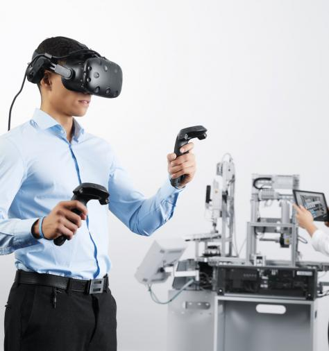 Digital learning with virtual reality